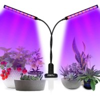 Growlight lampa na rostliny 96 LED s klipsem